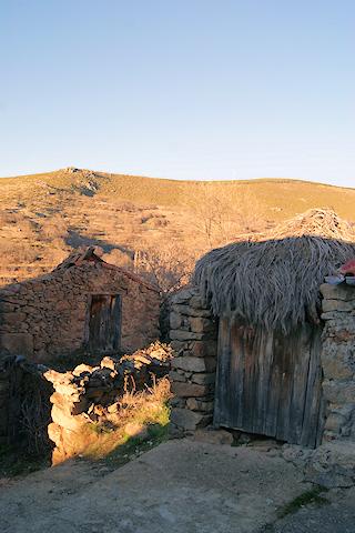 Arquitectura tradicional en Gredos Norte