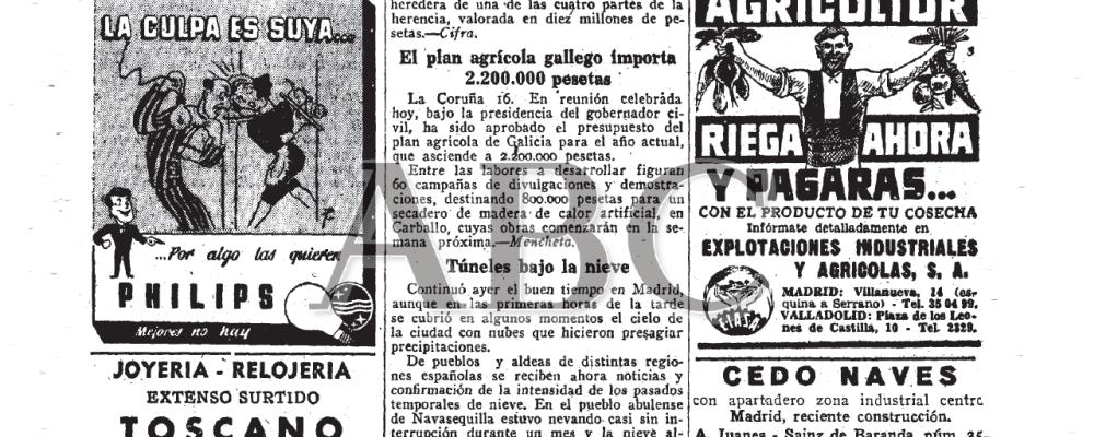 Noticias de los Años 50