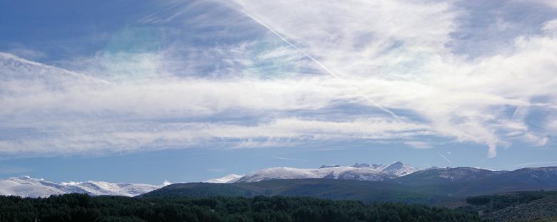 Vistas de Gredos desde Hoyos del Espino