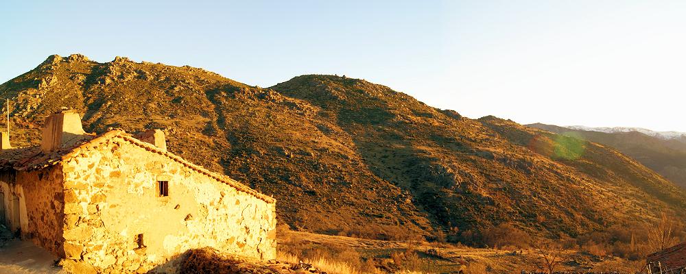 Foto arquitectura tradicional Gredos Norte