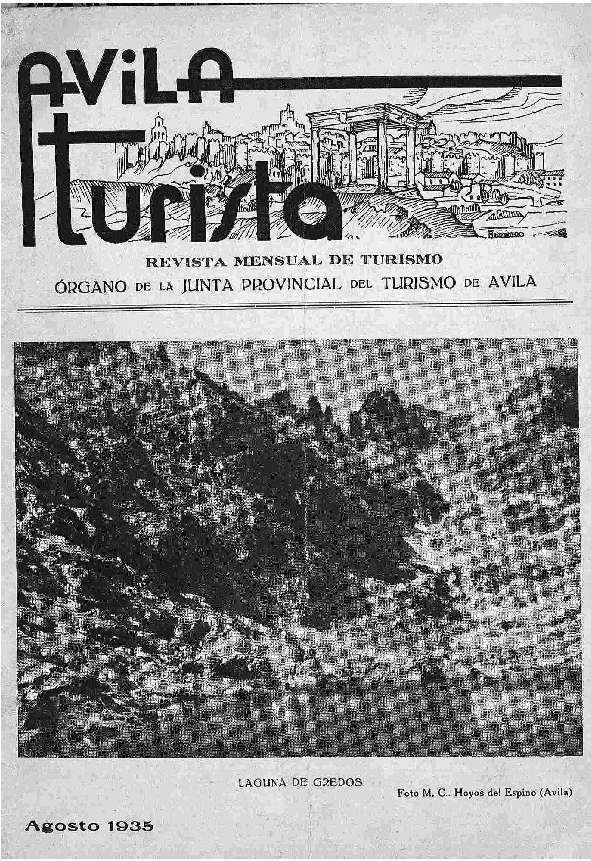 Revista de Turismo de Ávila (1934)